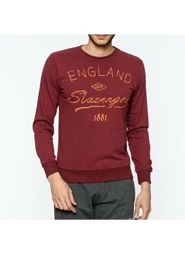 Slazenger Sweatshirt Bordo